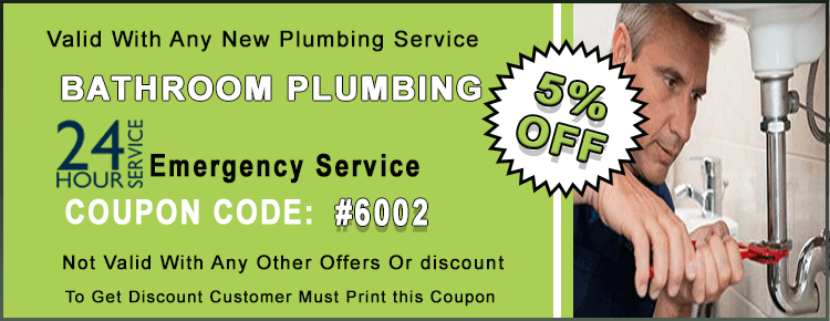Bathroom Plumbing Coupon