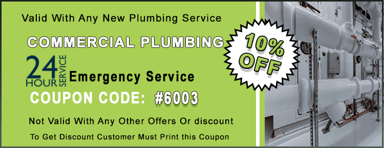 Commercial Plumbing Coupon
