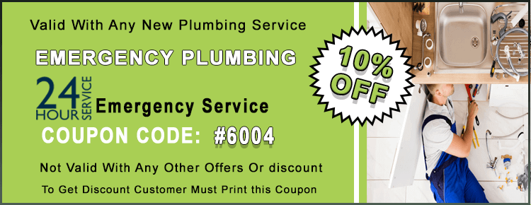 Emergency Plumbing Coupon