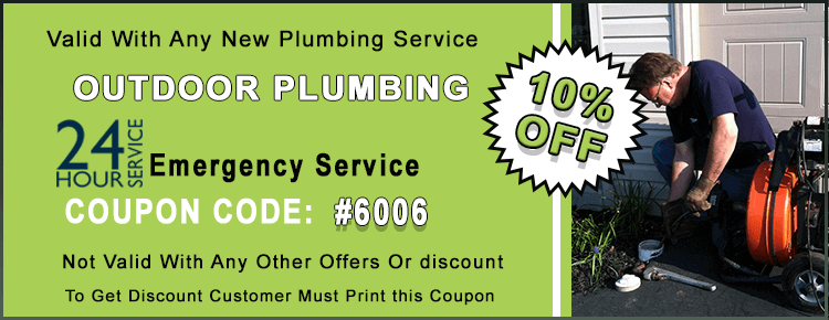 Outdoor Plumbing Coupon